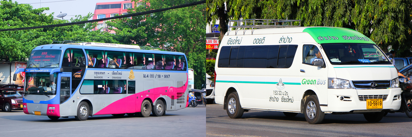travel across thailand, travel like a pro, travel, thailand, public transportation, van
