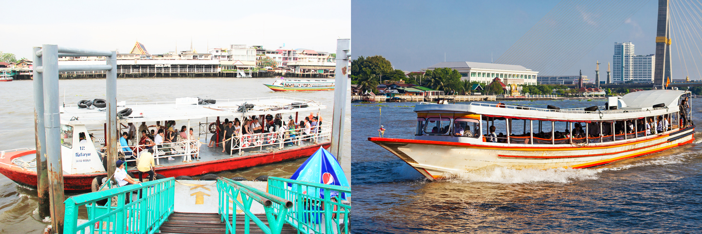 travel across thailand, travel like a pro, travel, thailand, public transportation, boat, ferry