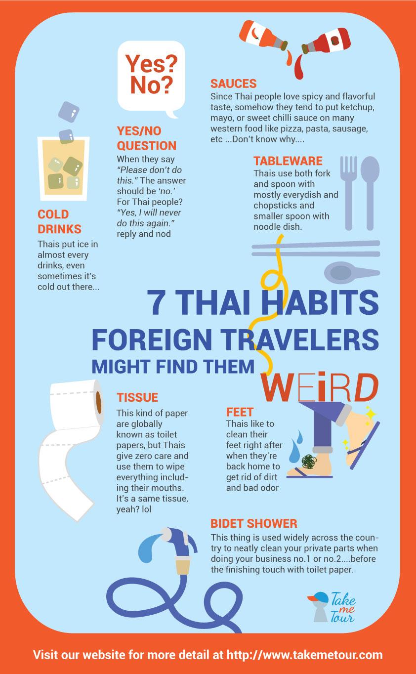 travel, travel tips, tips, thailand, thai, habits