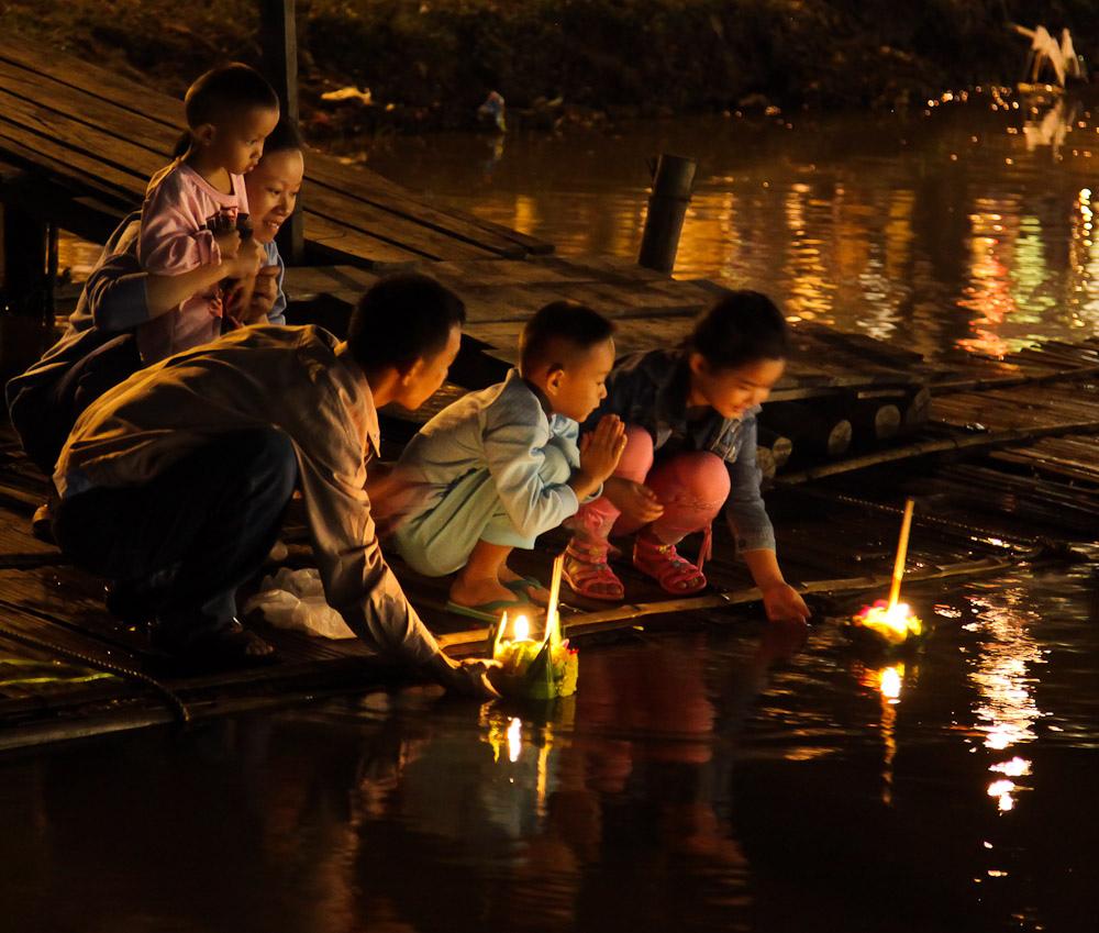 loy krathong, loi krathong, festival, thailand, thai, culture, region, province, loy krathong
