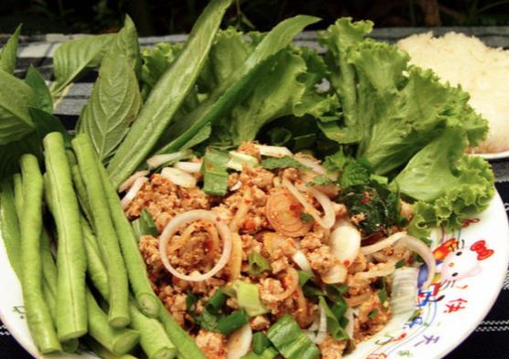 things to do in bangkok, bangkok, wang lang, larb mhoo