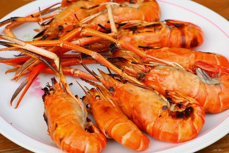 foodie, things to do in bangkok, seafood, shrimp