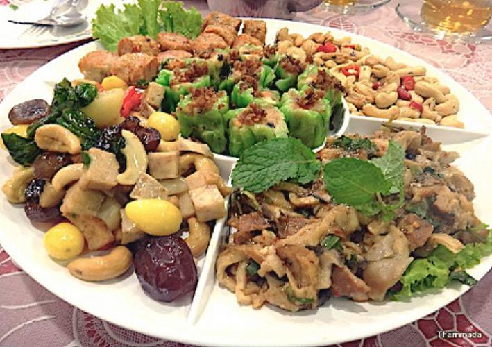 foodie, things to do in bangkok, vegetarian, thai, chinese, appetizer