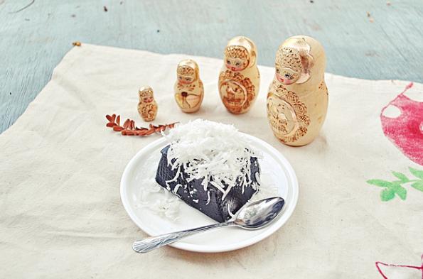 traditional, thai, sweets, dessert, kanom