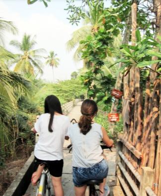 things to do in bangkok, bangkok, tie-dye, craft, cook. cycling, bicycle, bang ka jao