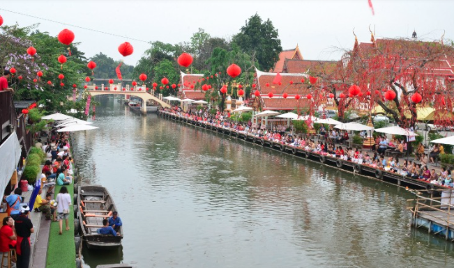 things to do in bangkok, bangkok, floating market, boat ride, vintage village