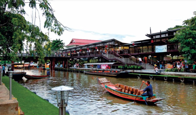 things to do in bangkok, bangkok, floating market, boat ride, Floating Market in Bangkok, floating market