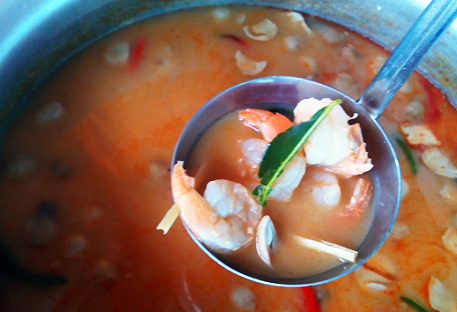 things to do in bangkok, bangkok, fresh market, cooking, tom yum