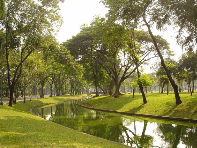 local day trips, one day trips in bangkok, park, chill out, exercise