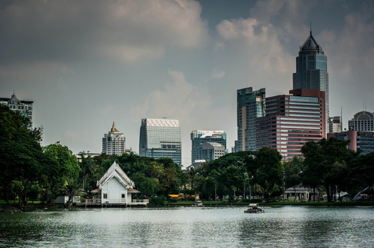 local day trips, one day trips in bangkok, park, chill out, workout