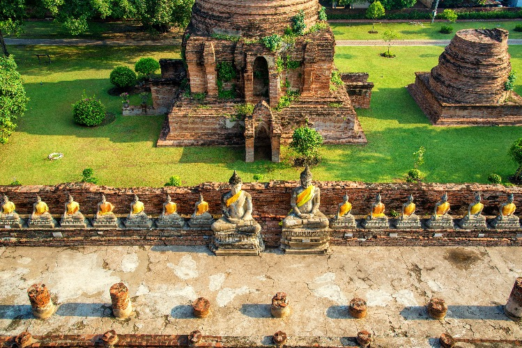 cycling in Thailand_ayutthaya_ancient_city