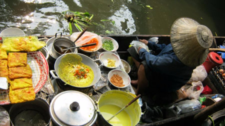 things to do in Bangkok, klong lat mayom floating market, Floating Market in Bangkok