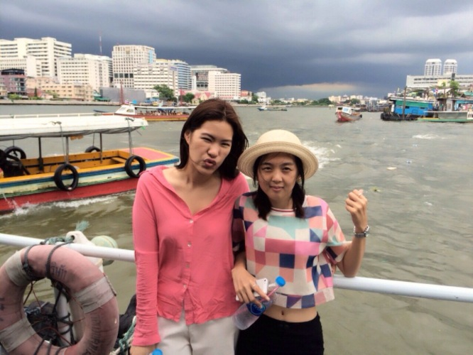 chinese new year in bangkok, chinese new year, bangkok, boat ride, chao phraya