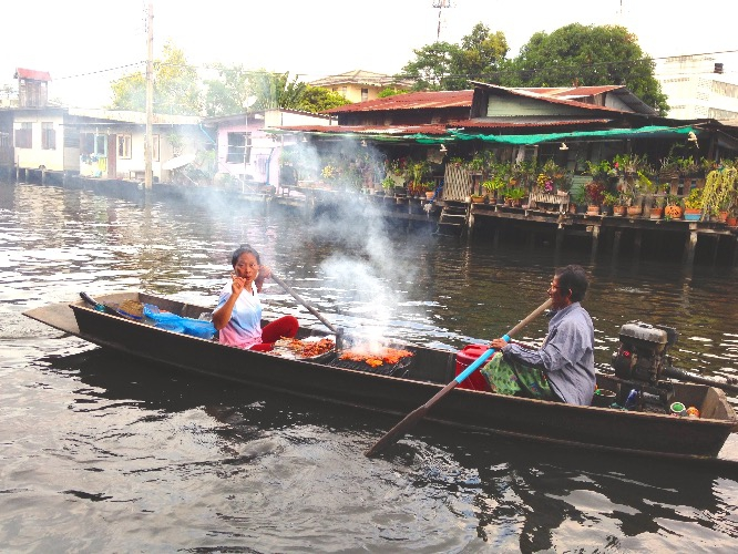 floating market's  vibe