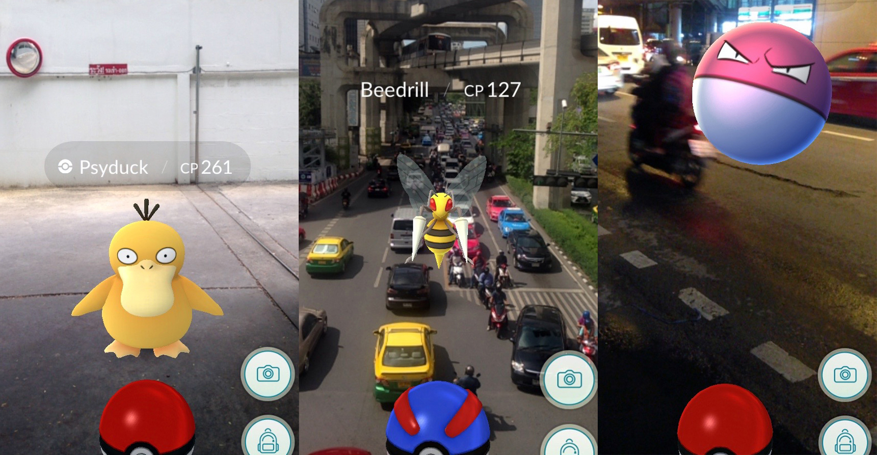 pokemon go in bangkok, pokemon go, bangkok