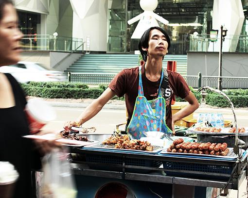 street foods stall