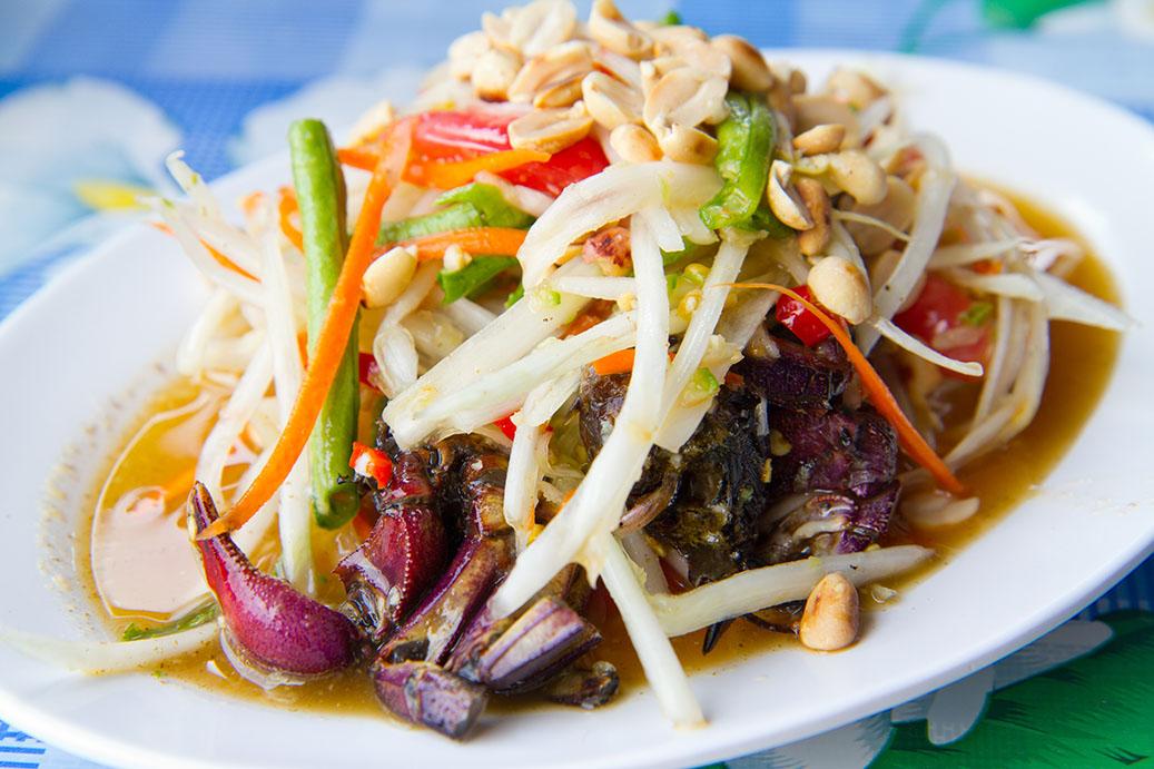 street foods, thai foods, street vendors