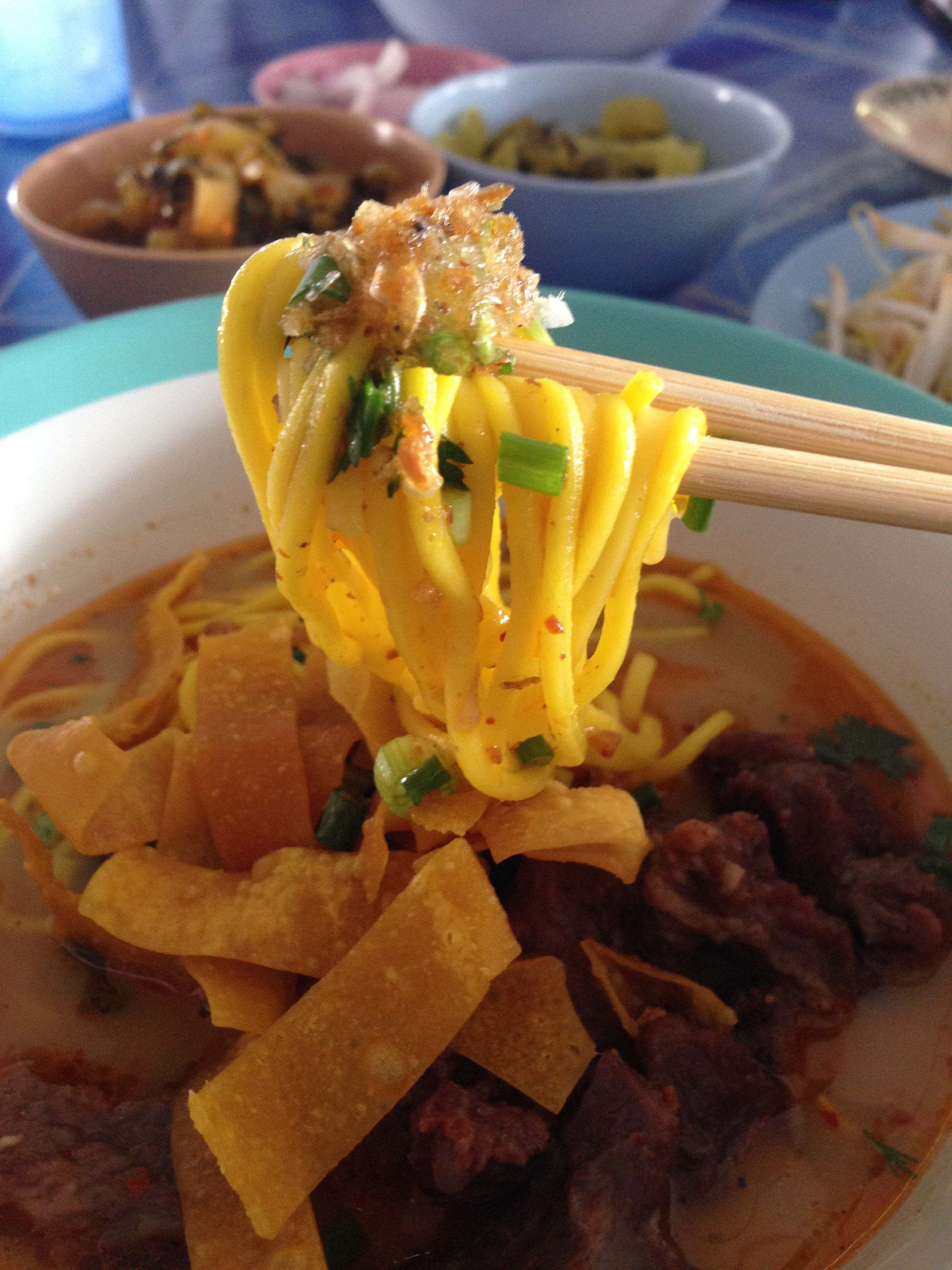 things to do, chiang rai, khao soi