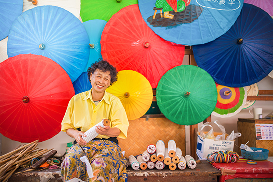 things to do, things to do in chiang mai, chiang mai, bo seng, umbrella, workshop