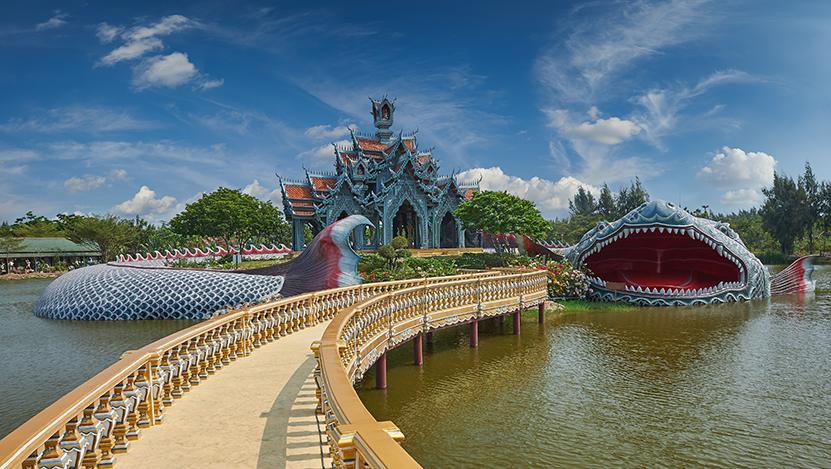 historical sites in Thailand, muang boran, ancient city, samut prakarn