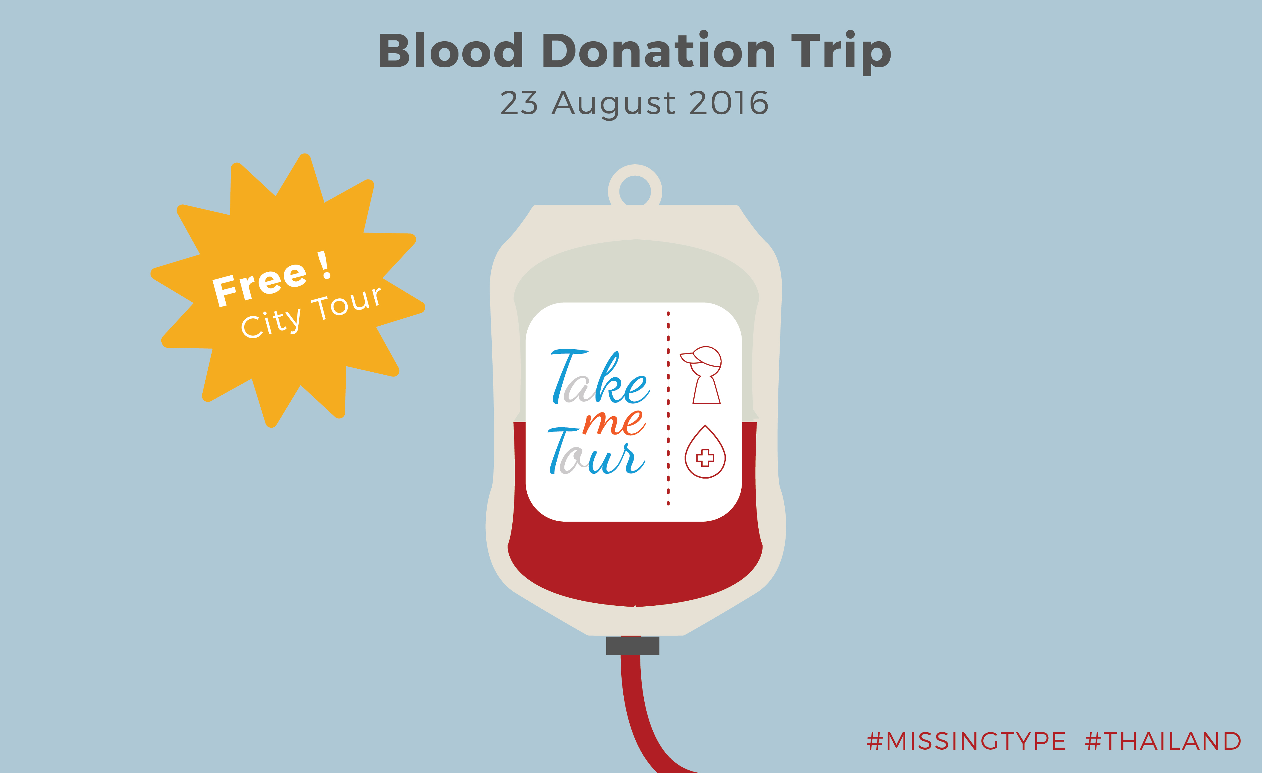 missingtype, blood donations, blood donor, thailand, meetup