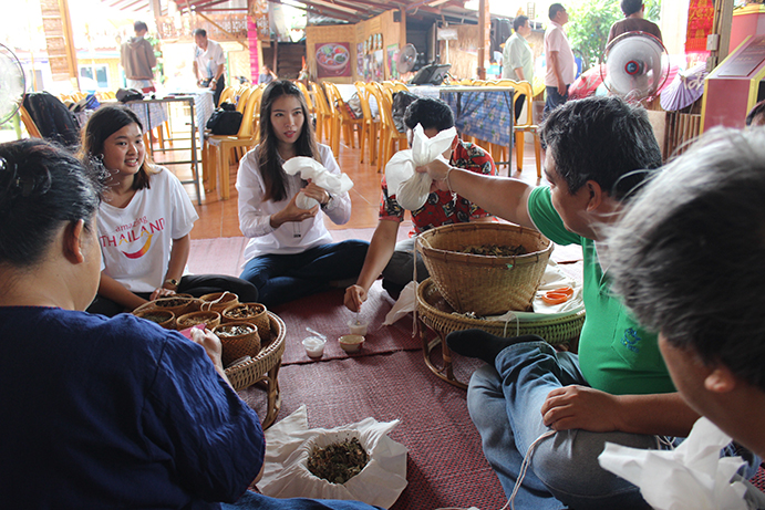 local wisdom in chiangmai, chiang mai, things to do, creative tourism, sustainable lifestyle, herbal ball