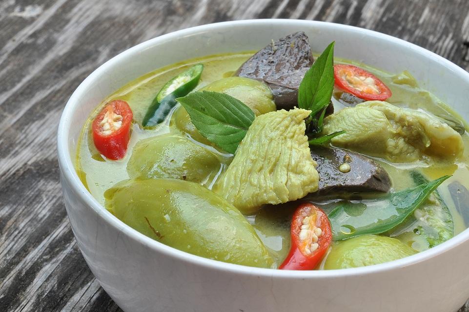 thai food, thai soups, thai cuisine, gaeng, green curry