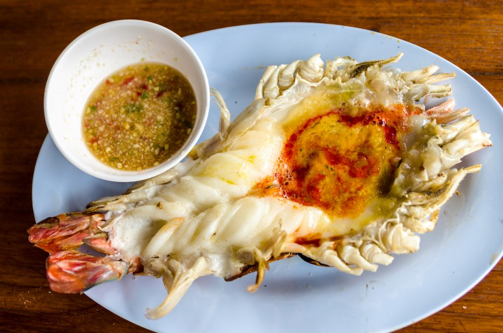Ayutthaya Tour - Grilled King River Prawn