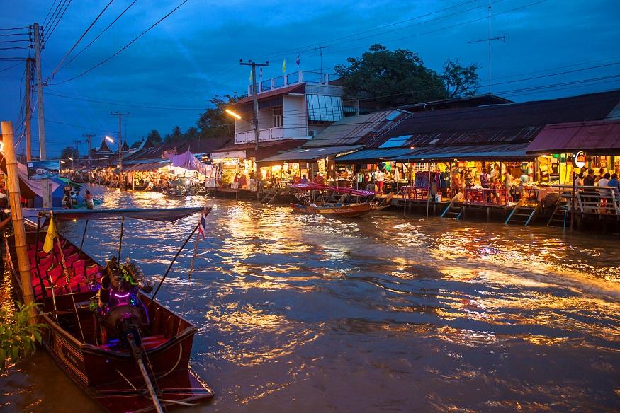 floating market, amphawa. samut songkram, things to go