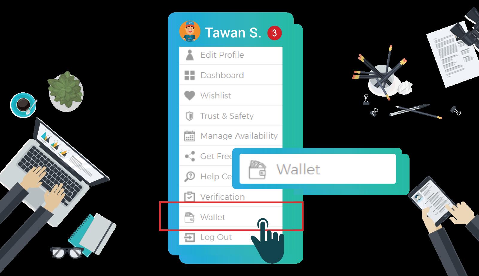 menu---wallet