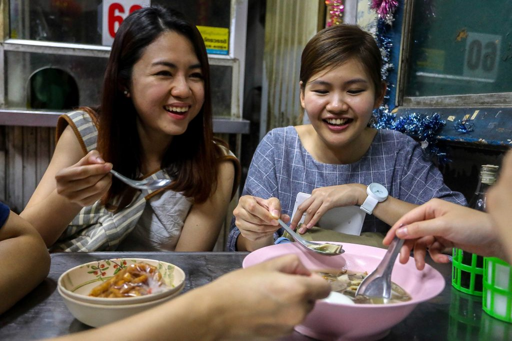Smiles are everywhere in Thailand! It will always go down well if you return them.