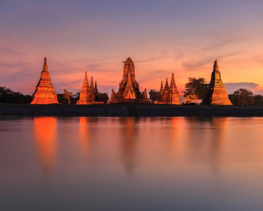 Wat Chaiwatthanaram in Ayutthaya