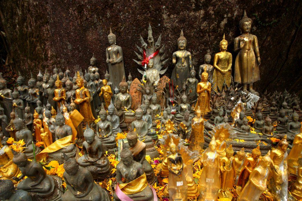 Khao Khitchakut National Park, Chanthaburi: Buddha images galore along the way up Khao Phra Bat