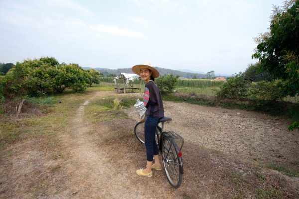 Meet the Local Expert Khun Pat Cycling in Mae Taeng