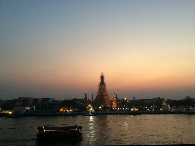 Where to go in Bangkok: This is what we mean by riverside fine dining! Self-explanatory.
