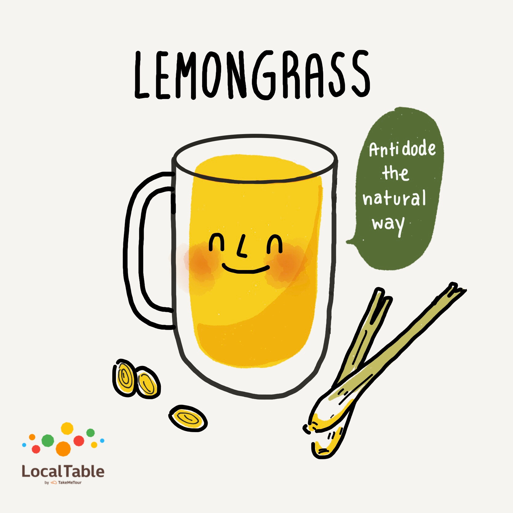Thai Herbal Drinks: Lemongrass