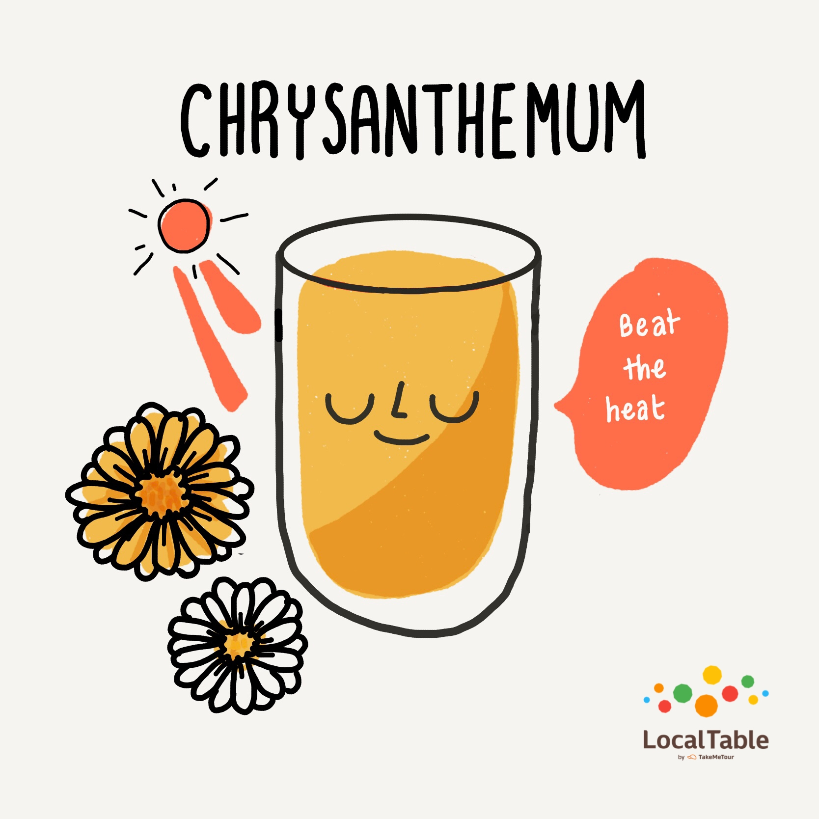 Thai Herbal Drink: Chrysanthemum
