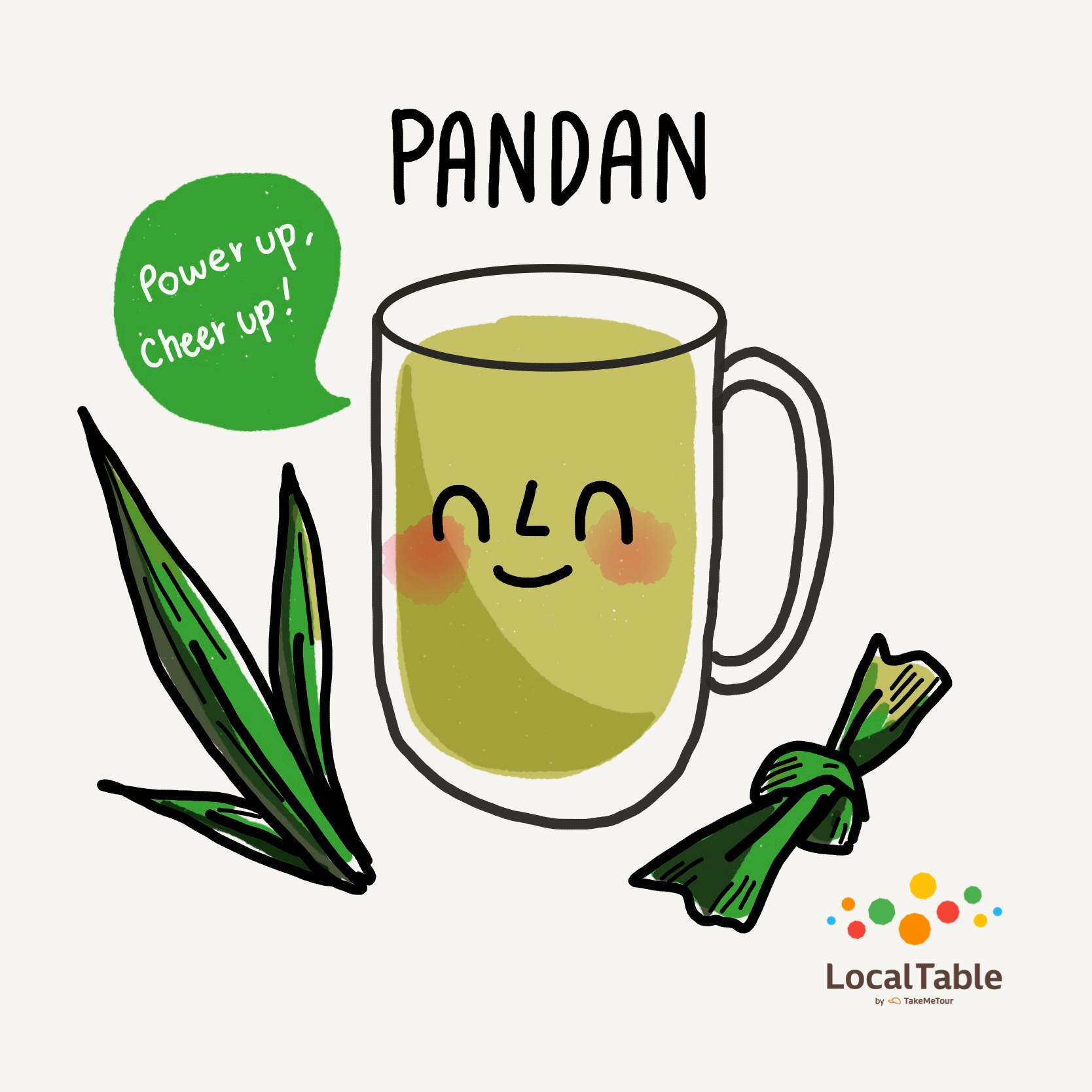 Thai Herbal Drinks: Pandan
