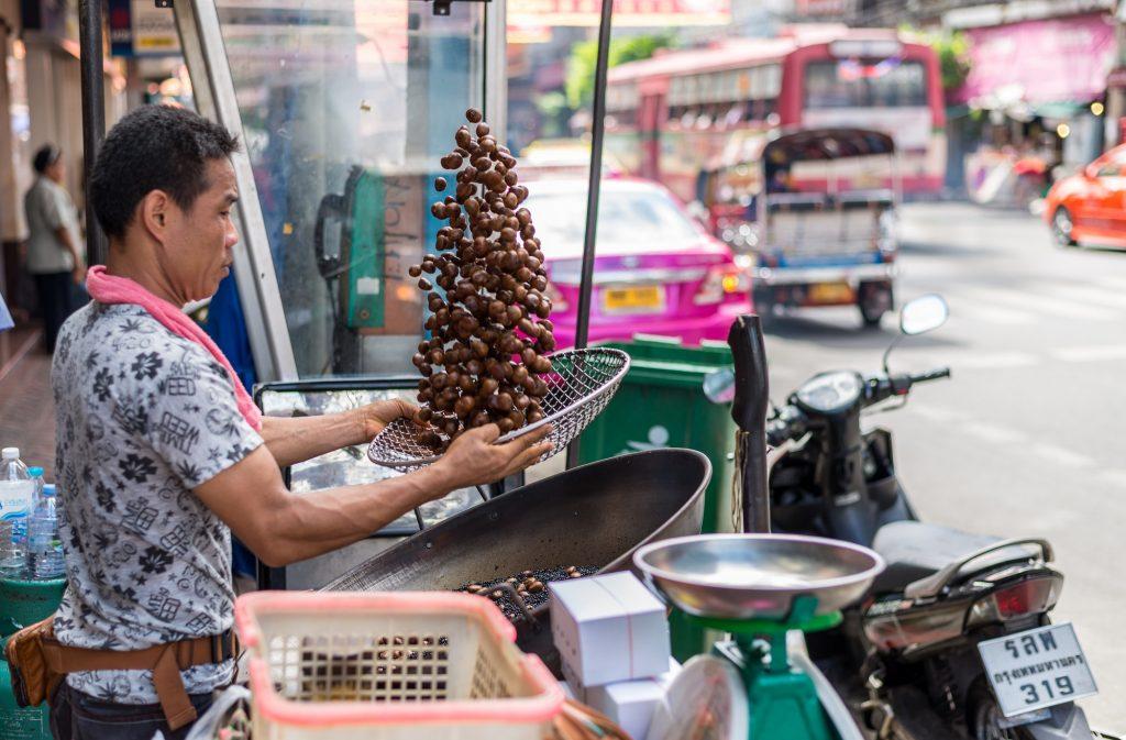 Street food vendor in Thailand