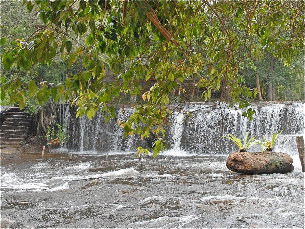 Phnom Kulen Waterfall, Phnom Kulen National Park, Siem Reap, Cambodia