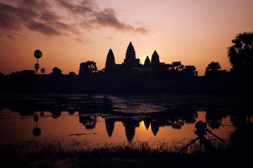 Angkor Wat, Angkor Wat Sunrise, Sunrise at Angkor Wat, Siem Reap, Cambodia