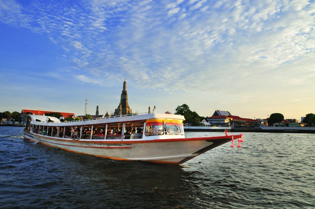 Chao Phraya River around BTS Saphan Taksin