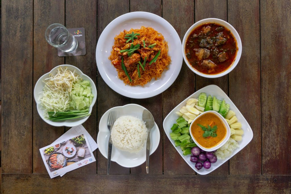 Chanthaburi food, Local table