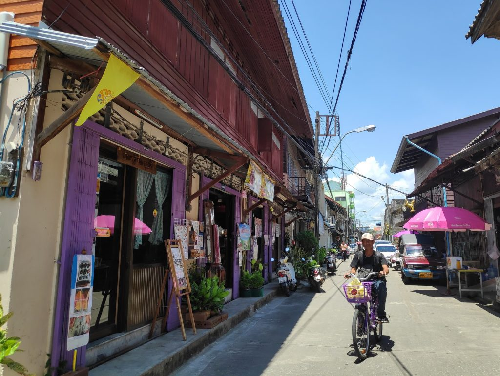 Street of Chanthaboon Waterfront