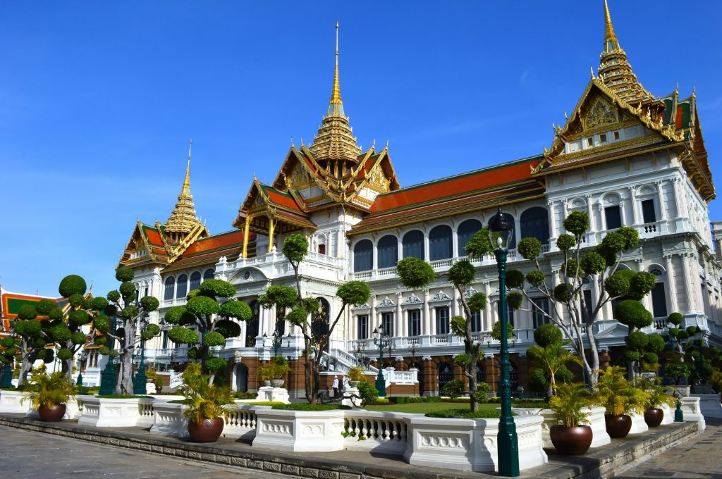 One day in Bangkok is not complete without visiting the grand palace