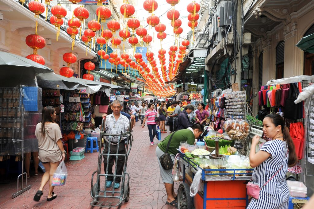 It's worth spending your one day in Bangkok at Sampeng Lane.