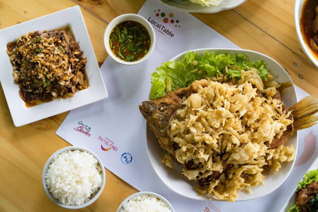 Larb Sanam Keela, Best larb in Chiang Rai, best restaurants to eat in Chiang Rai, Lanna food