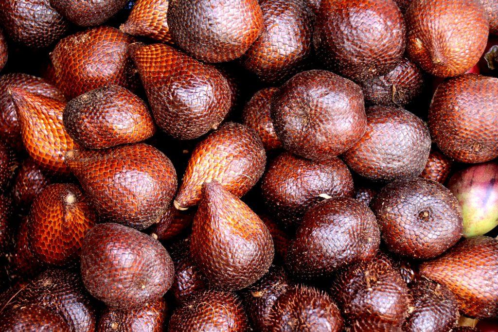 Salak, famous fruit of Trat, tropical fruit