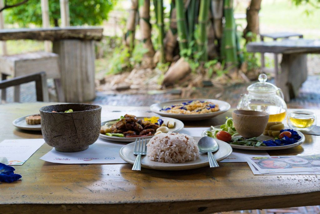 Sawan Bon Din, organic food, organic ingredients, organic farm, best restaurants in Chiang Rai