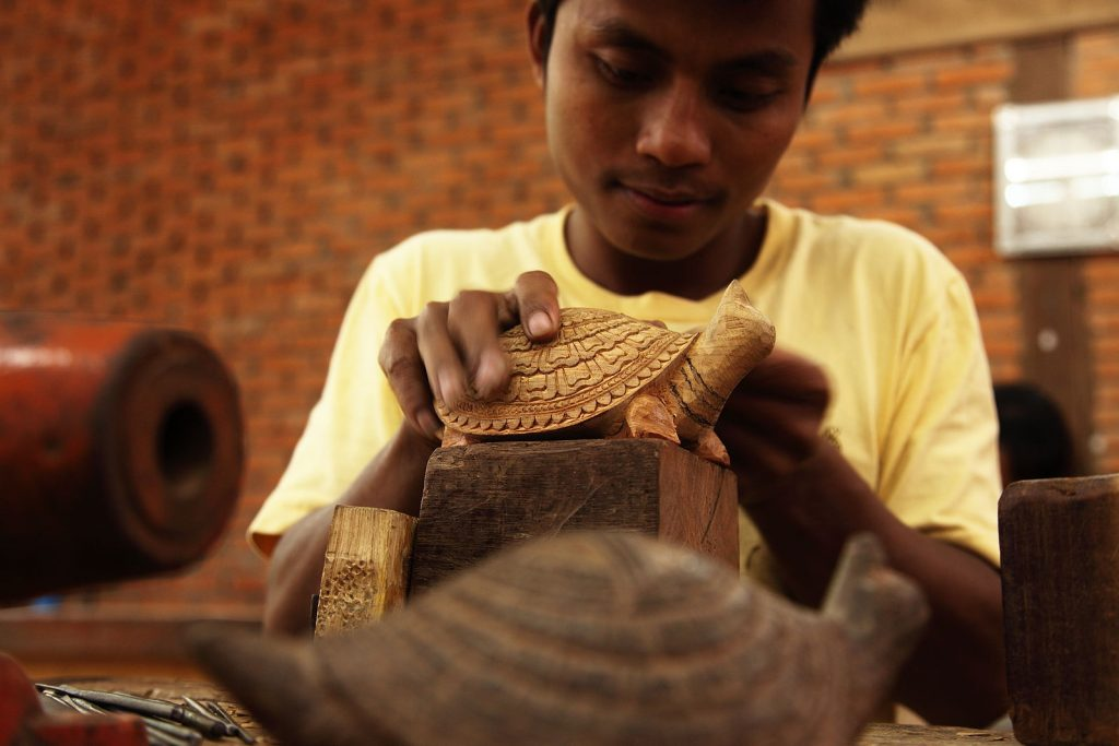 Artisans Angkor, Social Enterpise, arts and handicraft